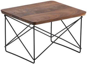 Vitra Occasional Table LTR Walnuss/Gestell schwarz