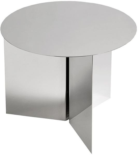 HAY Slit Table Round silber