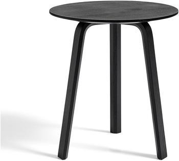 HAY Bella Coffee Table 45x49cm schwarz gebeizt