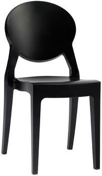 SCAB Igloo 45 x 52 x 87 cm glatt schwarz