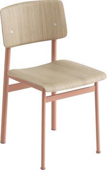Muuto Loft Chair Eiche / Dusty Rose