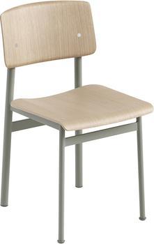 Muuto Loft Chair Eiche / Dusty green