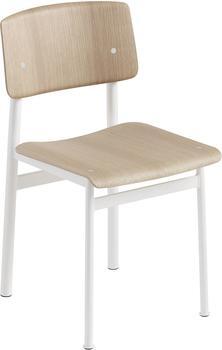 Muuto Loft Chair Eiche / weiß