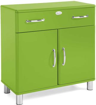 Tenzo Malibu Kommode 2 Türen 1 Schublade grün (5127-021)