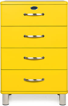Tenzo Malibu 4 Schubladen gelb (5116-002)