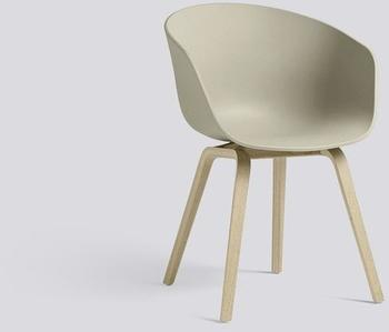 HAY About A Chair AAC22 (pastellgrün) (Gestell Eiche geseift)
