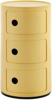 kartell-componibili-bio-3-elemente-5970-gelb