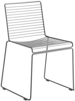 HAY Hee Dining Chair asphalt grey