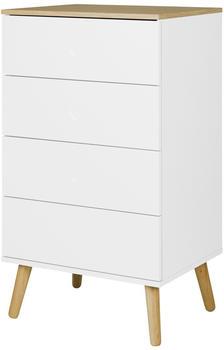 Tenzo Dot mit 4 Schubladen weiß
