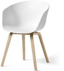 Hay HAY About A Chair AAC22 (weiß) (Gestell Eiche matt lackiert)
