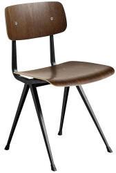 Hay HAY Result Chair Eiche smoked lackiert wasserbasiertGestell schwarz (257345)