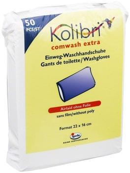 Igefa Kolibri Comwash Extra Waschhandschuhe unfoliert 16x24cm (50 Stk.)