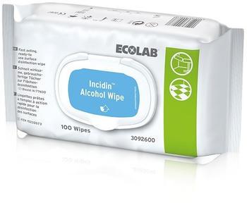 Ecolab Incidin Alcohol Wipes (100 Stk.)