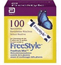 Abbott FreeStyle Teststreifen (100 Stk.)