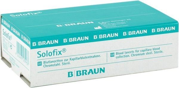 B. Braun Solofix Blutlanzetten, Gammasteril (200 Stk.)