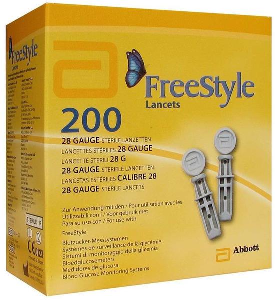 Abbott Freestyle Lanzetten (200 Stk.)