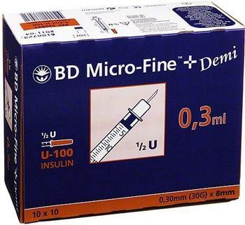 becton-dickinson-b-d-micro-fine-demi-u-100-insulin-spritzen-0-3-x-8-mm-100-stk