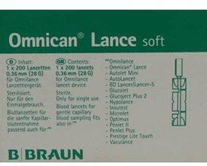B. Braun Omnican Lance Soft Lanzetten (200 Stk.)