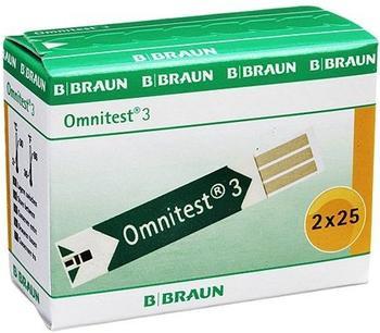 B. Braun Omnitest 3 Blutzuckersensoren (2 x 25 Stk.)