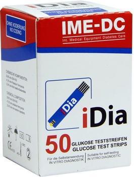 IME-DC Idia Blutzuckerteststreifen (50 Stk.)