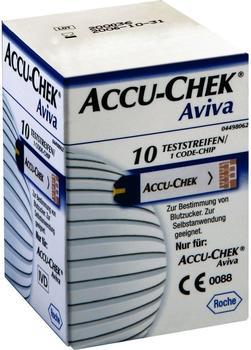 Accu-Chek Aviva Teststreifen Plasma II (10 Stk.)