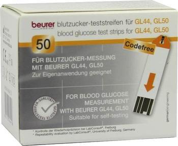Beurer GL44/50 Teststreifen (50 Stk.)