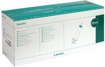 B. Braun Omnifix Einmalspritzen Lock 20 ml zentrisch (100 Stk.)