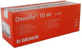 B. Braun Omnifix Einmalspritzen Lock 10 ml zentrisch (100 Stk.)