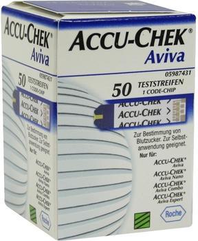 Emra-Med Accu Chek Aviva Teststreifen Plasma II (50 Stk.)