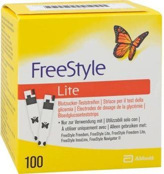 Count Price Company Freestyle Lite Teststreifen ohne Codieren (100 Stk.)