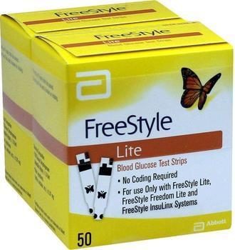 AxiCorp Freestyle Lite Teststreifen ohne Codieren (100 Stk.)