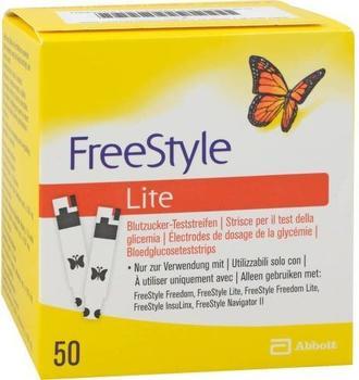 Count Price Company Freestyle Lite Teststreifen ohne Codieren (50 Stk.)