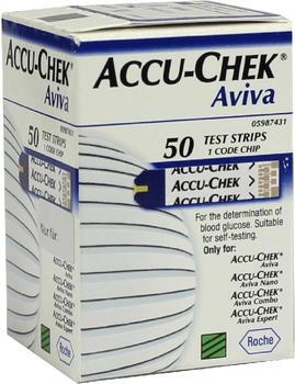 Eurim-Pharm Accu Chek Aviva Plasma II Teststreifen (50 Stk.)