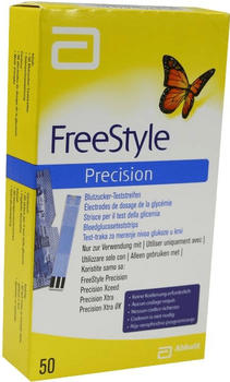 Abbott Freestyle Precision Blutzuckerteststreifen (50 Stk.)