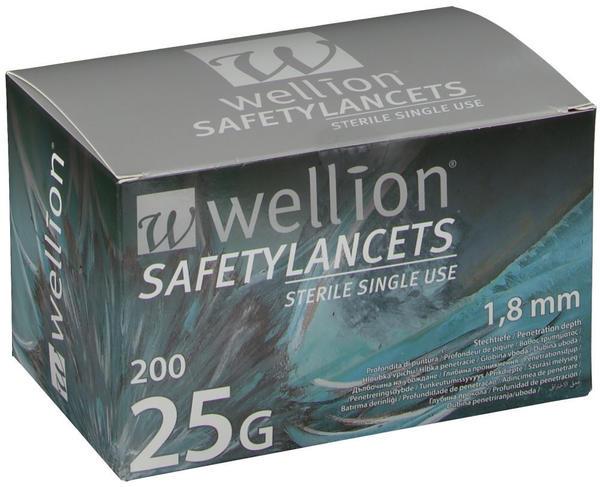 Wellion Safetylancets 25G ( 200 Stk.)