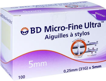 Orifarm BD Micro Fine Ultra Pen-Nadeln 0,25 x 5 mm (100 Stk.)