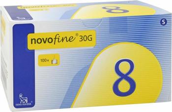 Count Price Company Novofine 8 Kanülen 0,3 x 8 mm (100 Stk.)