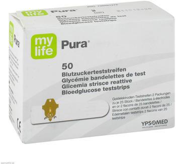 1001 Artikel Medical Mylife Pura Blutzuckerteststreifen (50 Stk.)