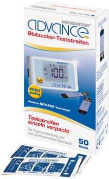 Cardimac Advance Monometer Blutzuckerteststreifen (50 Stk.)