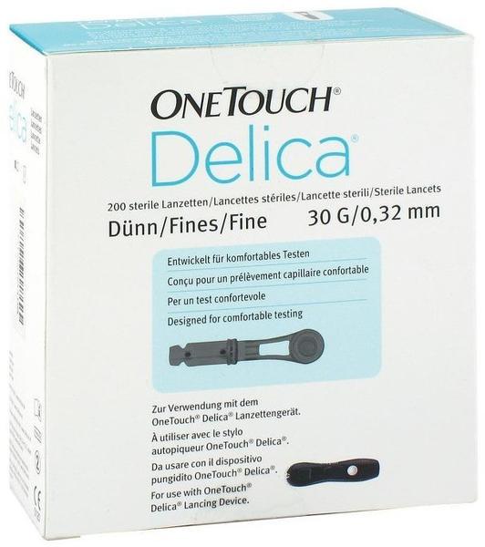 Emra-Med One Touch Delica Nadellanzetten 30G 0,32 mm (200 Stk.)