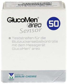 Actipart GlucoMen Areo Sensor Teststreifen (50 Stk.)