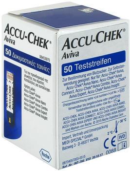 Medi-Spezial Accu Chek Aviva Teststreifen Plasma II (50 Stk.)