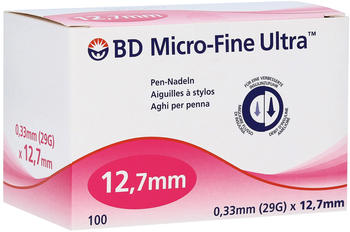 Count Price Company Bd Micro Fine Ultra Pen-Nadeln 0,33 x 127 mm (100 Stk.)