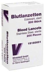 Vivomed Metall Blutlanzetten (200 Stk.)