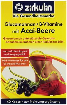 Roha Arzneimittel GmbH GLUCOMANNAN+B-Vitamine mit Acai-Beere Kapseln