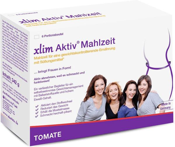biomo-vital GmbH XLIM Aktiv Mahlzeit Tomate Pulver 6X57 g