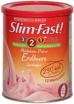 SlimFast Milchshake-Pulver Erdbeere (438g)