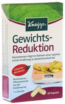 Kneipp Gewichts-Reduktion Kapseln 40 St.
