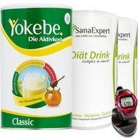sanaexpert-yokebe-aktivkost-classic-pulver-500-g-drink-pulver-2-x-420-g-pulsuhr