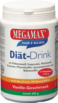 MEGAMAX Drink Vanille Pulver 425 g